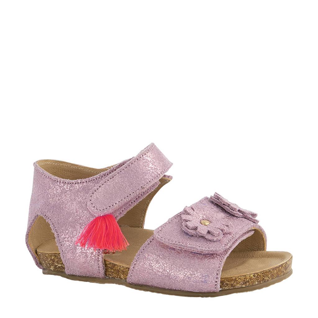 Elefanten   leren sandalen roze/metallic, Roze/metallic