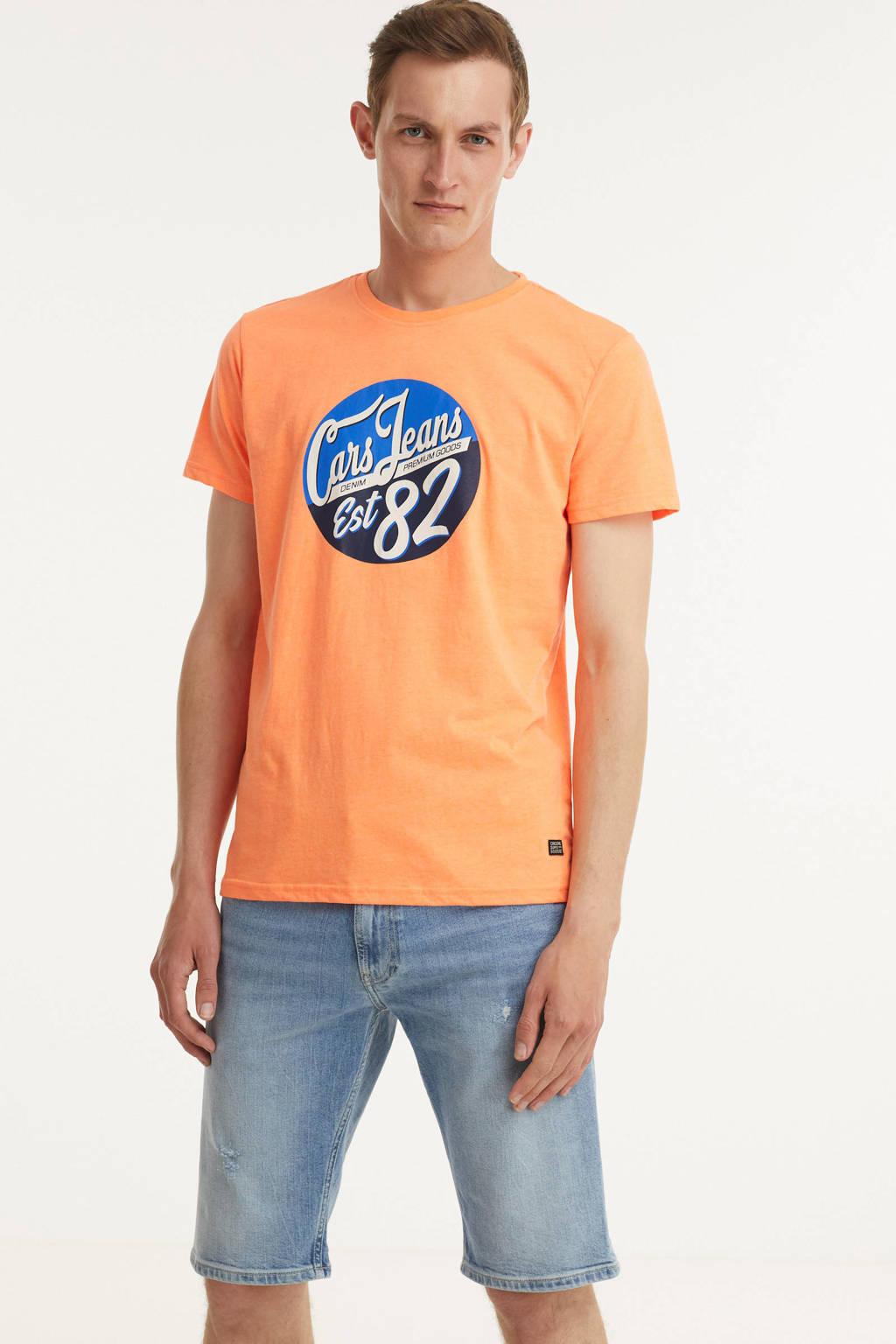 Cars T-shirt KLOSE met logo oranje, Oranje