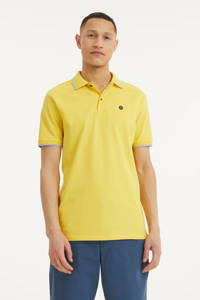 Twinlife regular fit polo met contrastbies minion yellow, Minion Yellow