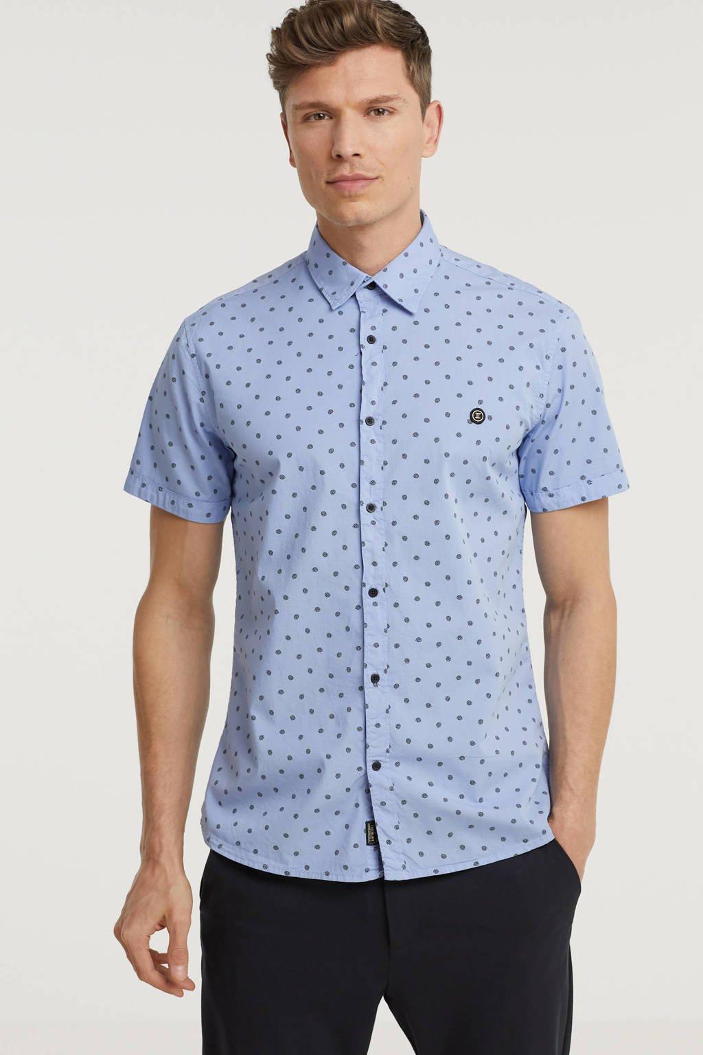 Twinlife regular fit overhemd met all over print serenity, Serenity