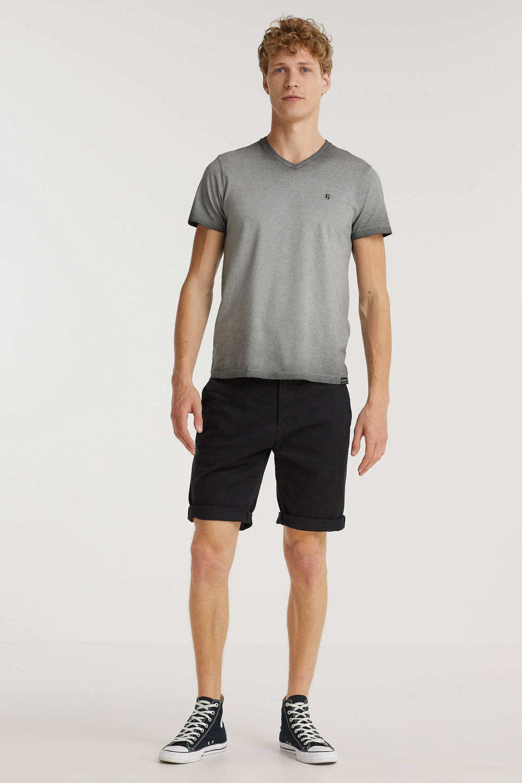 Garcia T-shirt iron grey, Iron Grey