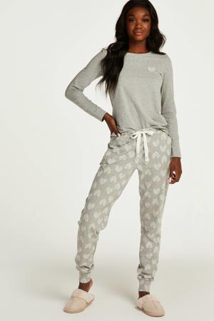 pyjamatop grijs