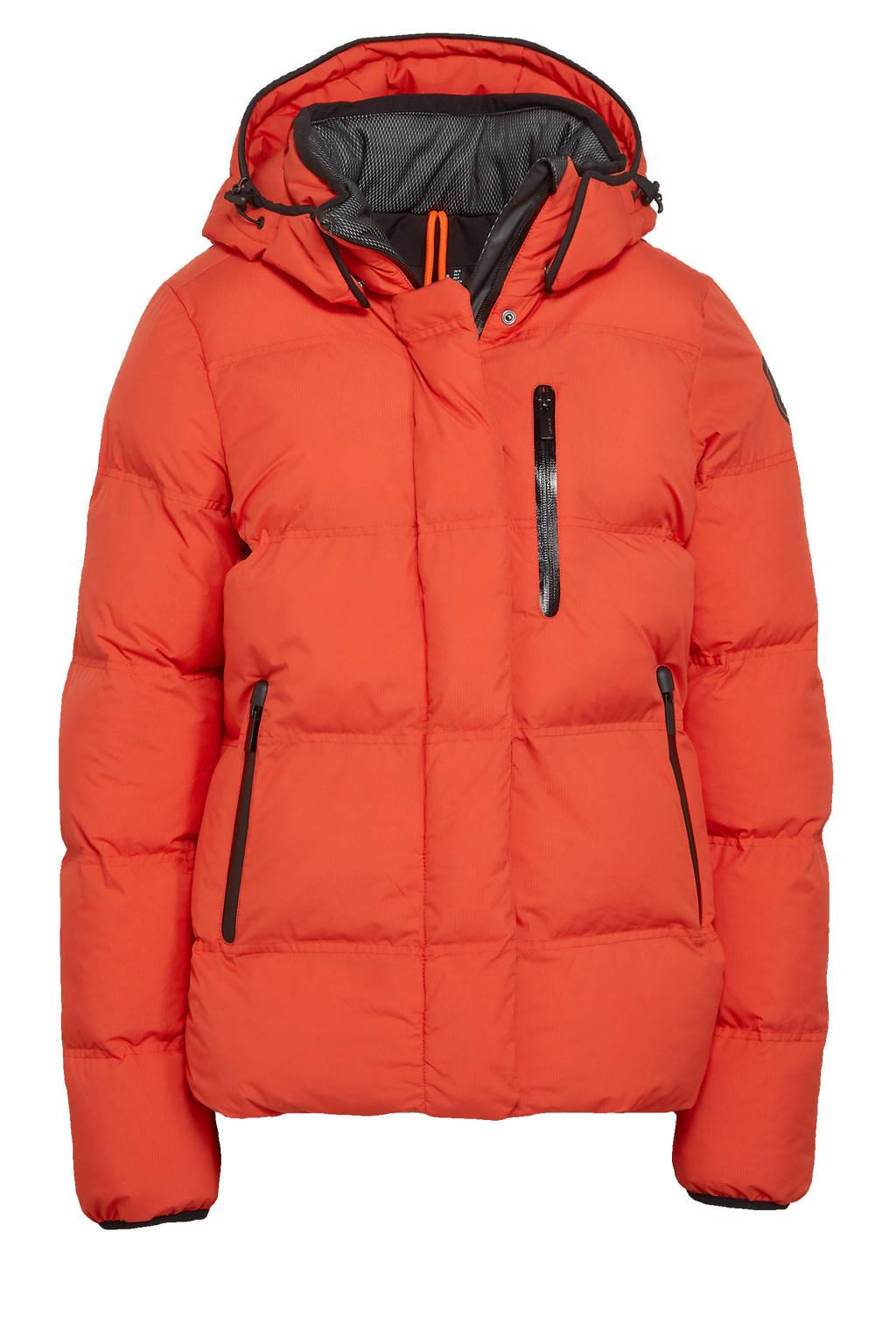 Icepeak outdoor jas Britton oranje, Oranje