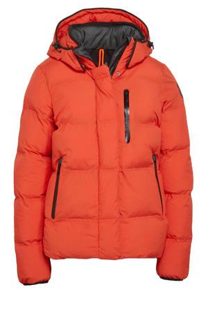 outdoor jas Britton oranje