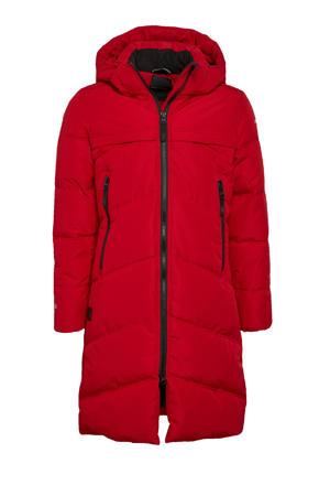 outdoor jas Keystone jr rood