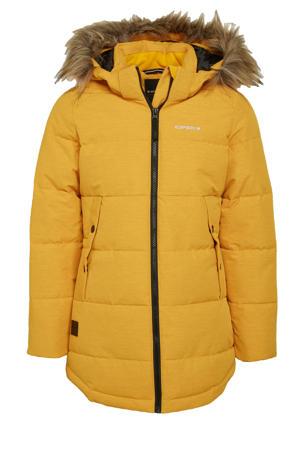 outdoor jas Kemah JR geel