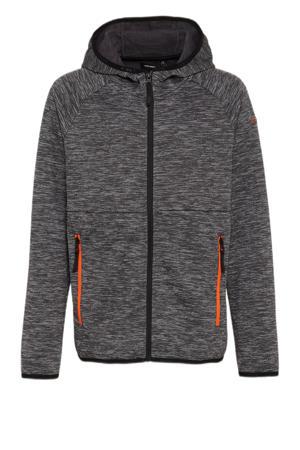 outdoor vest grijs melange