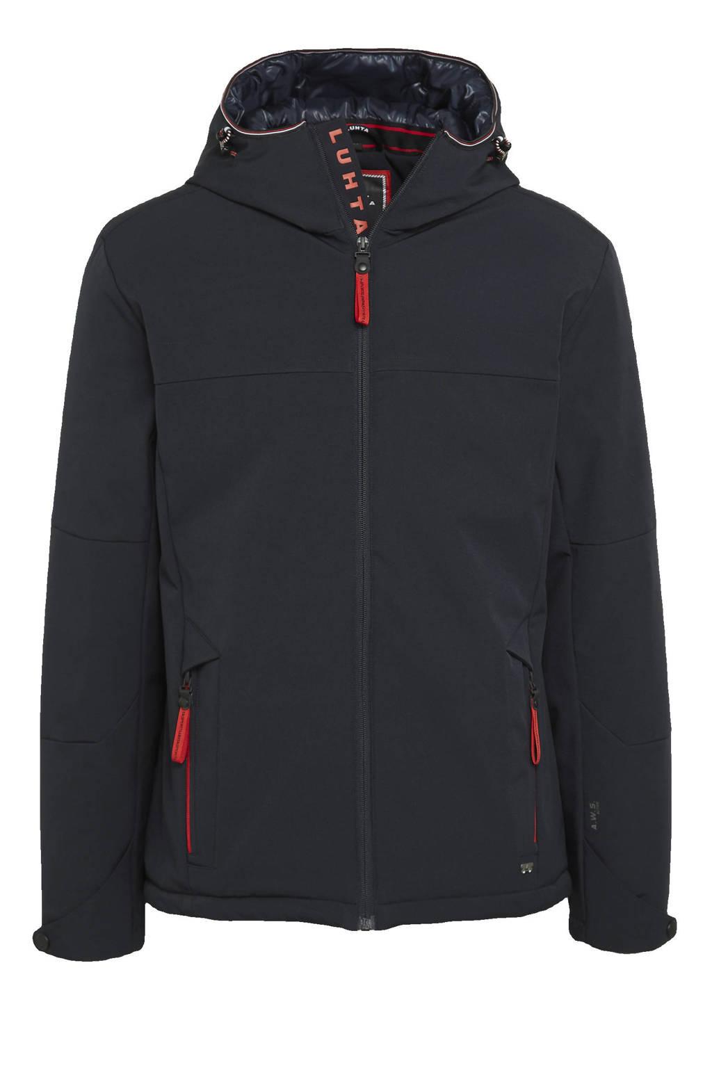 Luhta outdoor jas Jokipohja donkerblauw, Donkerblauw
