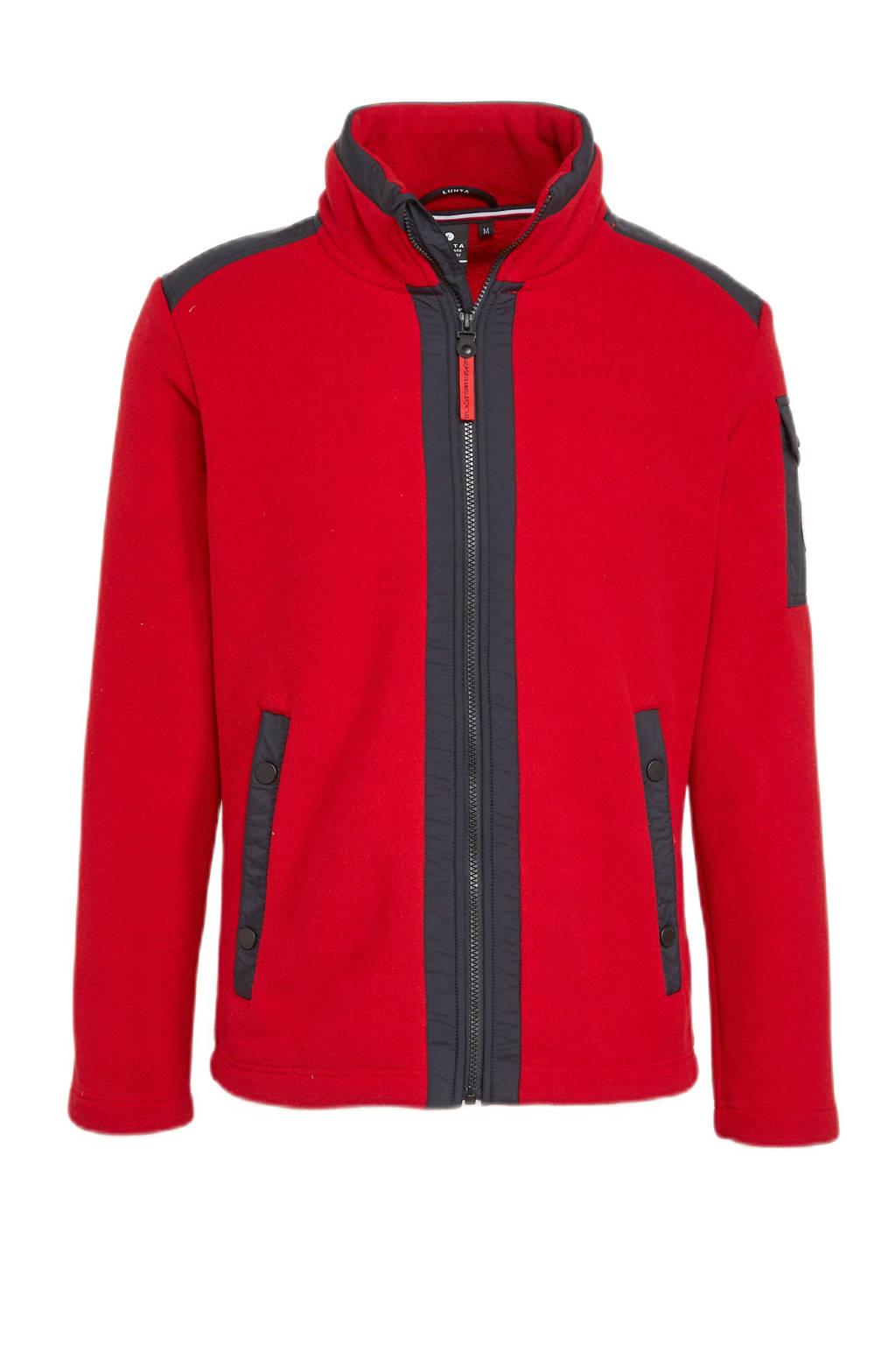 Luhta outdoor vest Holma rood, Rood