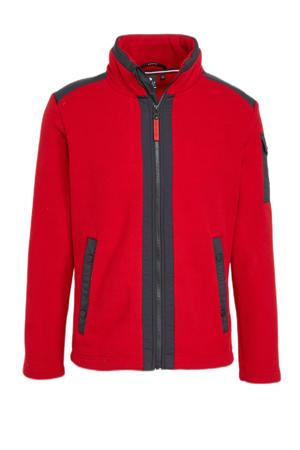 outdoor vest Holma rood