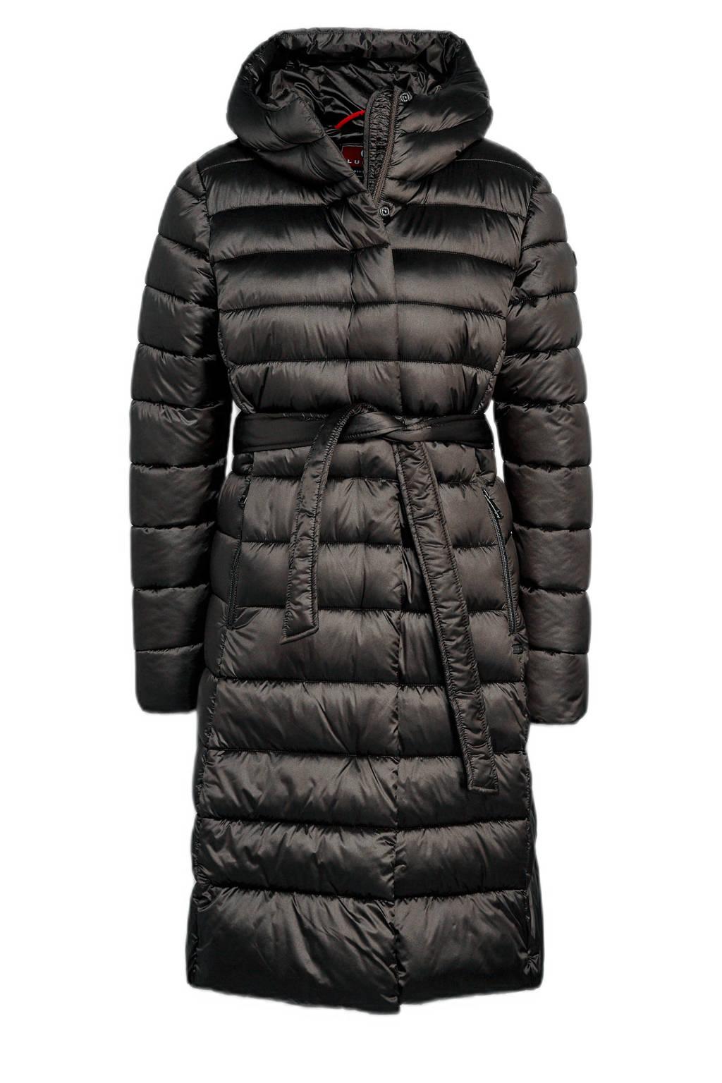 Luhta outdoorjas Hiidis zwart, Zwart