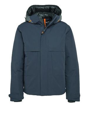outdoor jas Belk donkerblauw