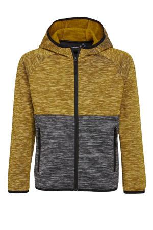 outdoor vest bruin/grijs