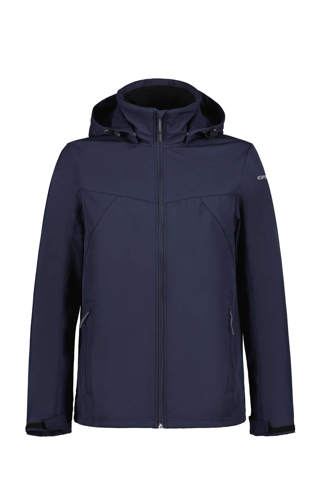 Icepeak softshell jas Brimfield donkerblauw, Donkerblauw