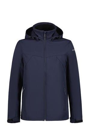 softshell jas Brimfield donkerblauw