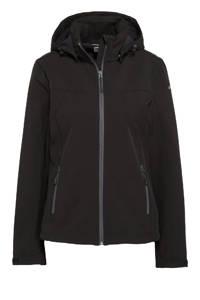 Icepeak softshell outdoor jas Brenham zwart, Zwart