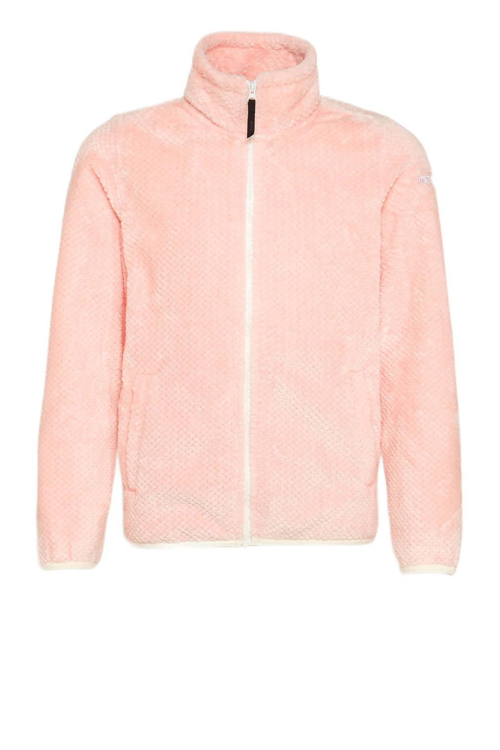 Icepeak fleecevest Keene jr roze, Roze