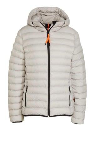outdoor jas Blackey lichtgrijs