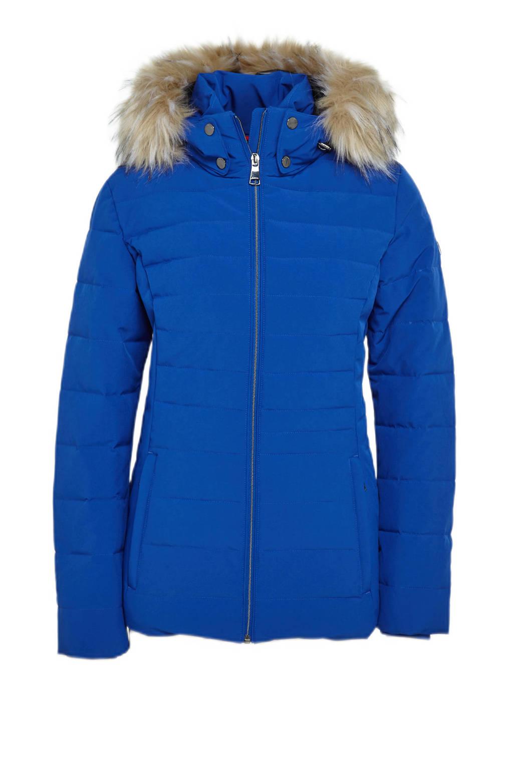 Luhta jas Huiltuniemi kobaltblauw, Kobaltblauw
