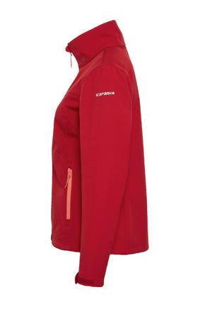 softshell outdoor jas Brenham rood