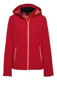 Icepeak softshell outdoor jas Brenham rood, Rood
