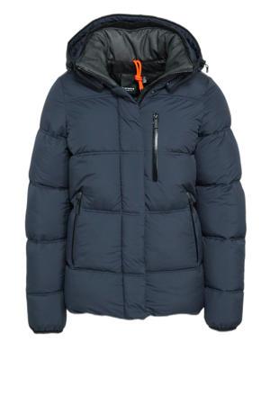 outdoor jas Britton donkerblauw