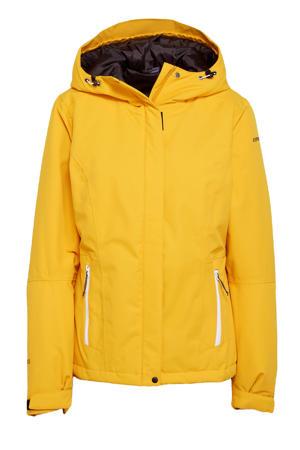 outdoor jas Belpre geel
