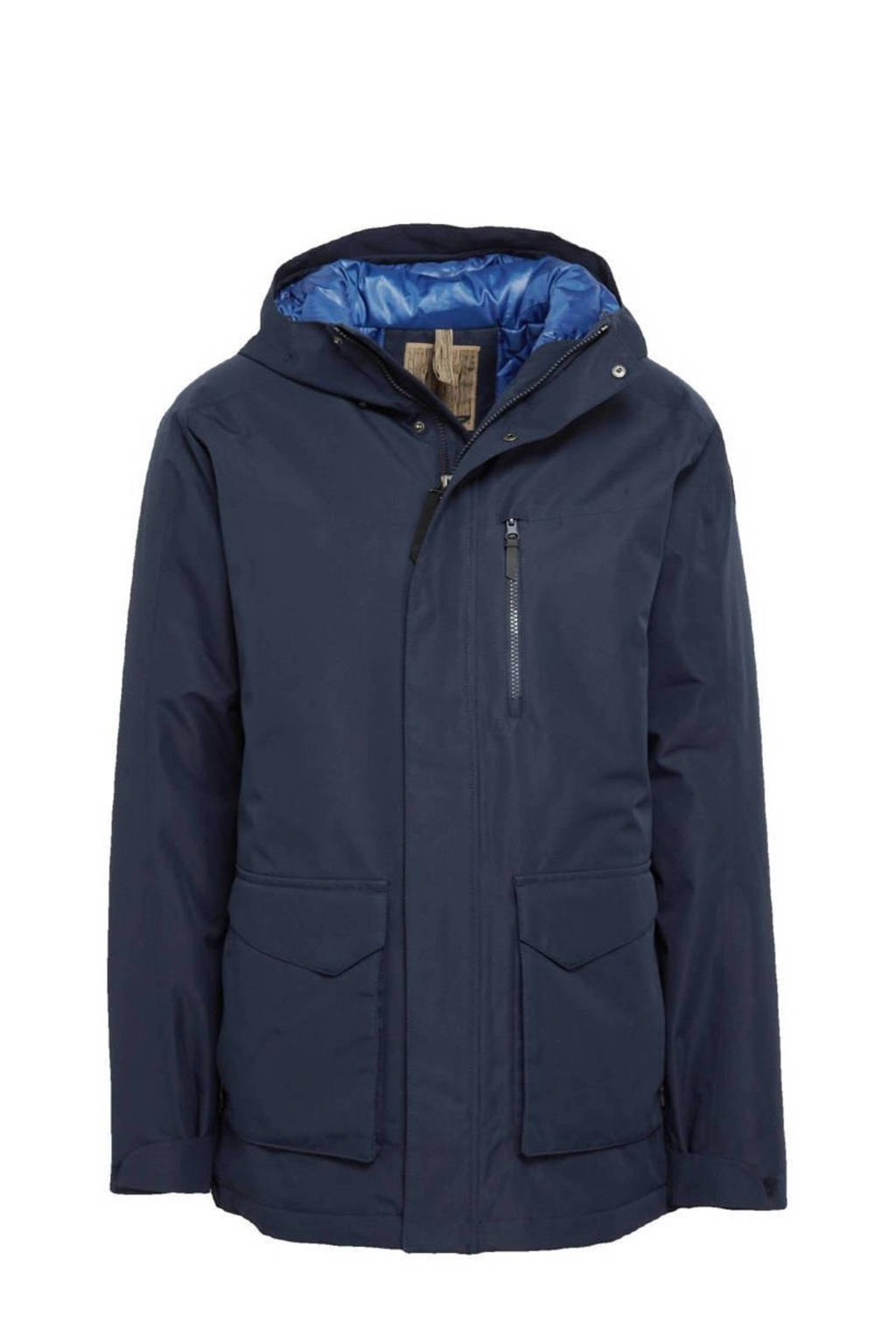 Icepeak outdoor jas Antler donkerblauw, Donkerblauw
