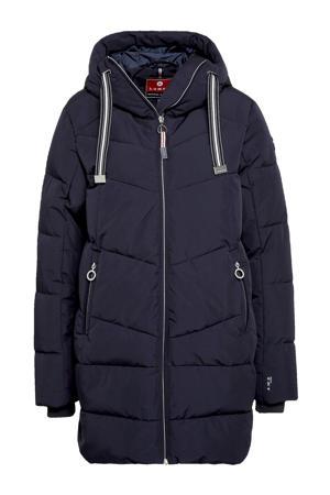 outdoor jas Inkoo donkerblauw