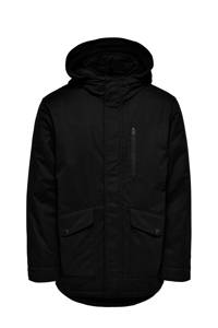 ONLY & SONS parka winterjas ONSELLIOT zwart, Zwart