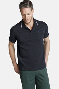 Charles Colby polo T-shirt GARMOND Plus Size donkerblauw, Donkerblauw