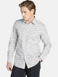 Charles Colby overhemd Earl KENNETH Plus Size wit, Wit
