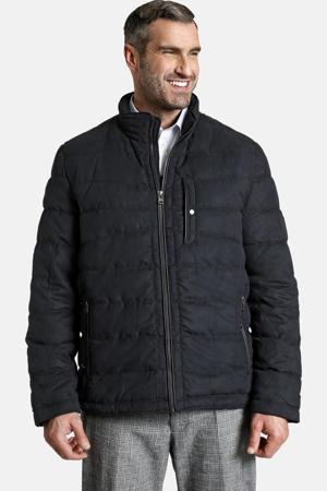 gewatteerde jas Earl ALISTAIR Plus Size donkerblauw
