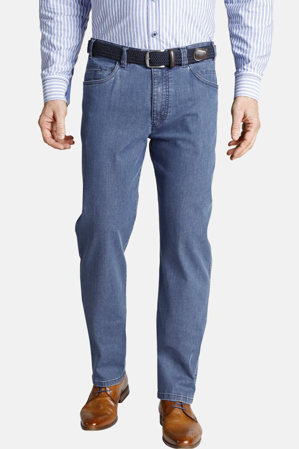 Charles Colby regular fit jeans ANDRED Plus Size blauw, Blauw