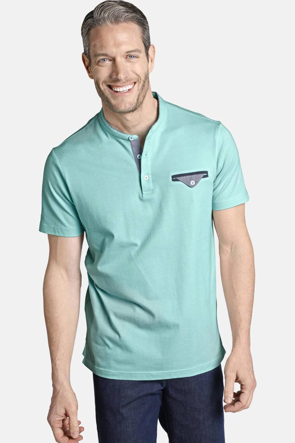 Charles Colby T-shirt SADWYN Plus Size turquoise, Turquoise