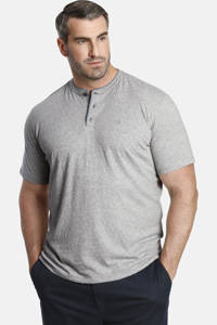 Charles Colby T-shirt Earl FINLEY Plus Size grijs melange, Grijs melange