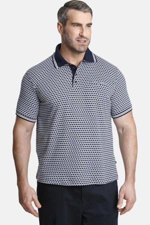 polo DUKE TREVOR Plus Size donkerblauw