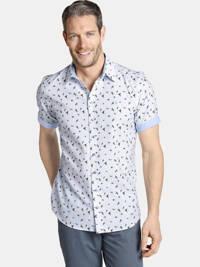 Charles Colby overhemd OBERON Plus Size lichtblauw, Lichtblauw