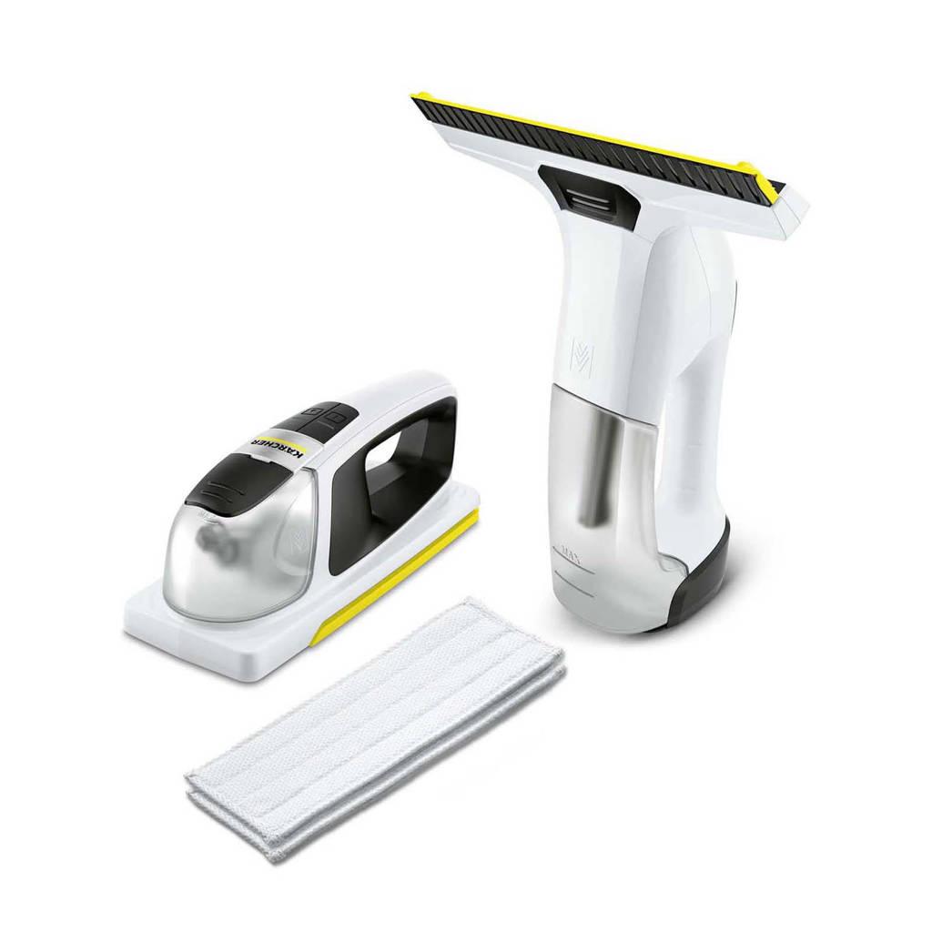Kärcher WV6 + KV4 Premium elektrische wisser, Zilver, wit