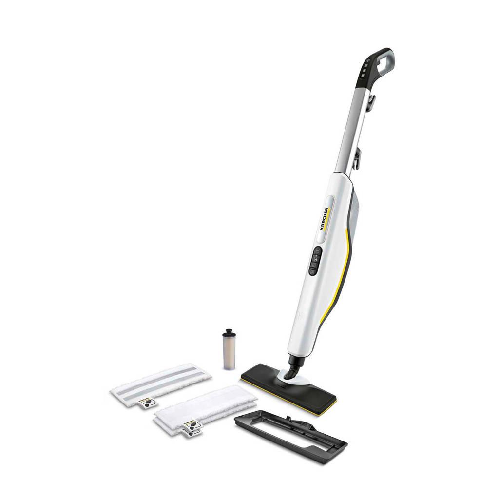 Kärcher SC3 Upright Easyfix Premium stoomreiniger (wit), Zwart, wit