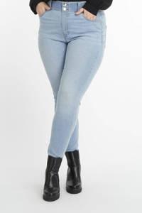 MS Mode skinny jeans bleached denim, Bleached denim