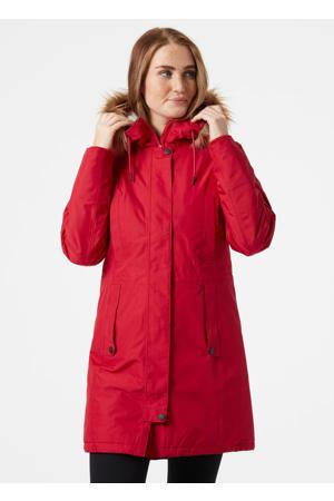 winterjas Mayen rood