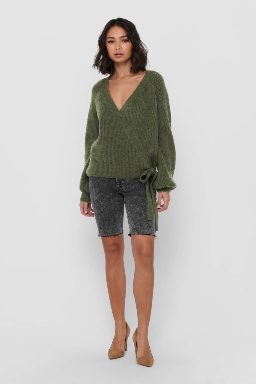 ONLY vest ONLMIA groen, Groen