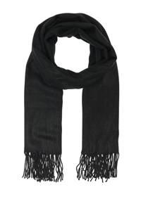 ONLY sjaal ONLANNALI zwart, Zwart