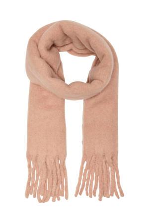 sjaal ONLJULIE lichtroze