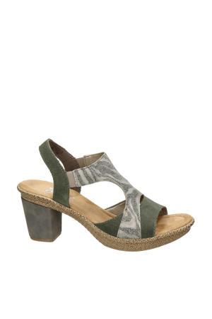 sandalettes groen
