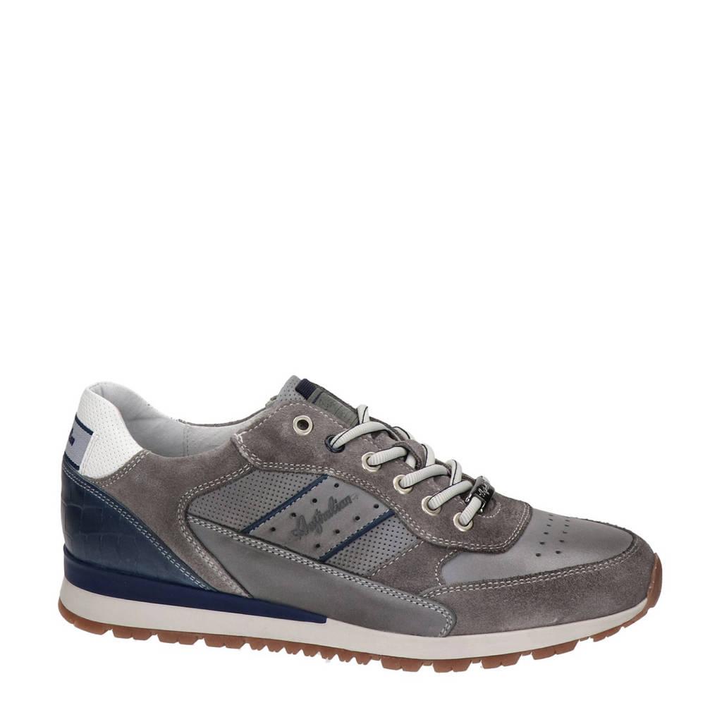 Australian Rosetti  leren sneakers grijs, Grijs