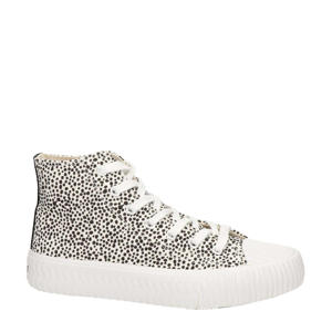 Vera  hoge sneakers wit/zwart