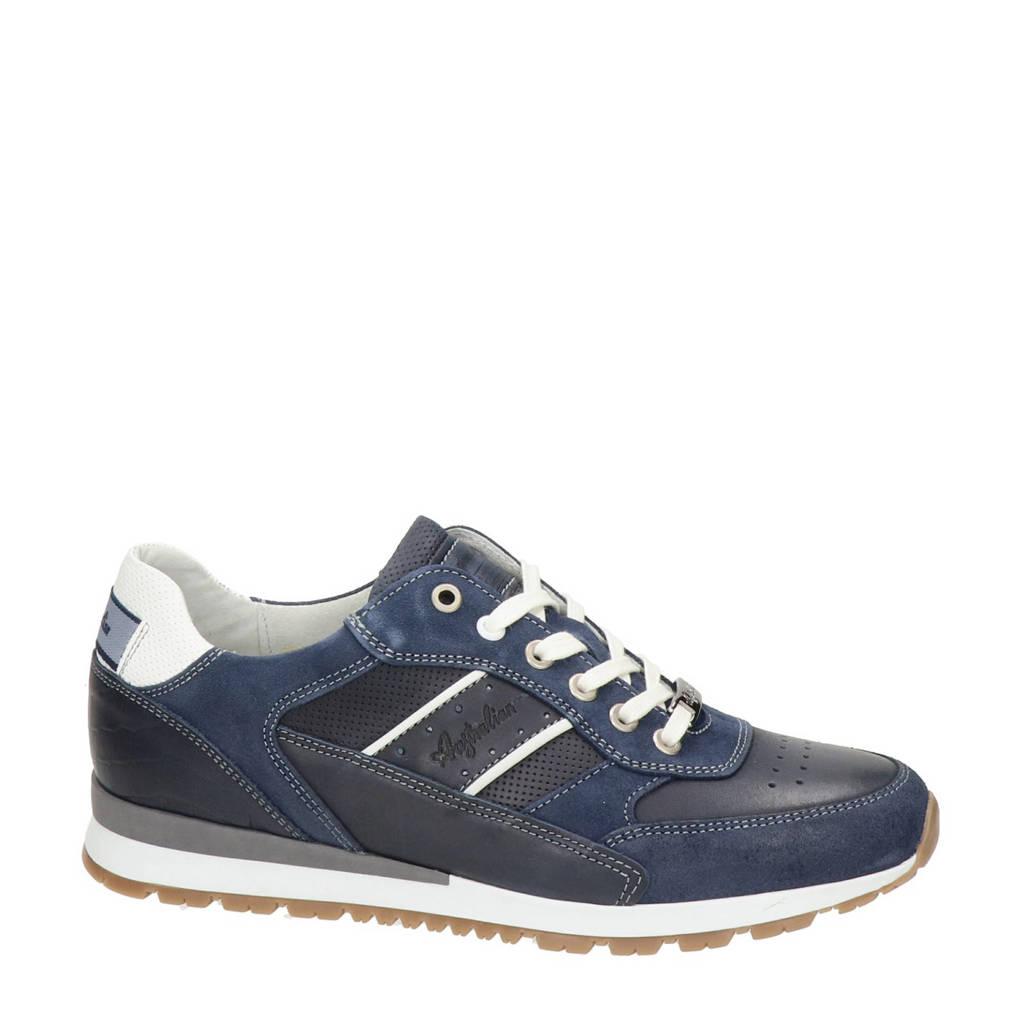 Australian Rosetti  leren sneakers blauw, Blauw
