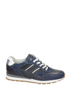 Rosetti  leren sneakers blauw